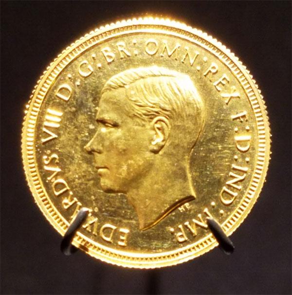 1937 sovereign Edward VIII