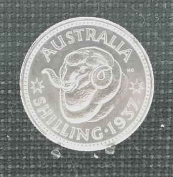 1937 Shilling pattern