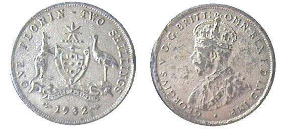 1932 florin fake