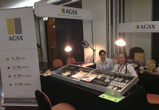 ANDA Coin Show stand