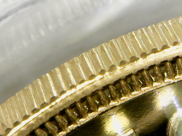2002 fine edge reeding two pound
