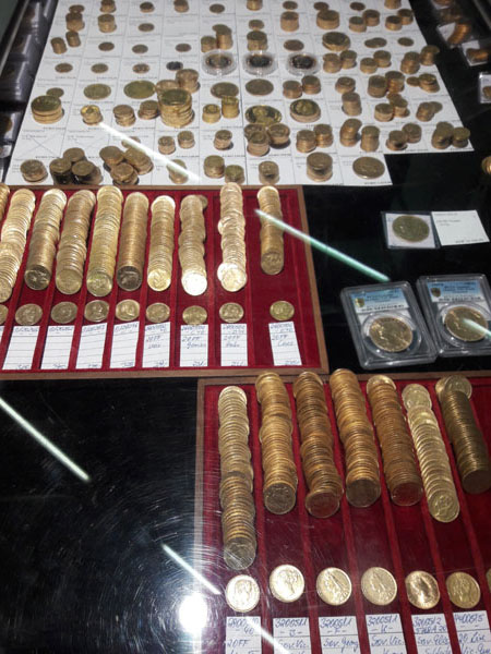 Gold coins for sale