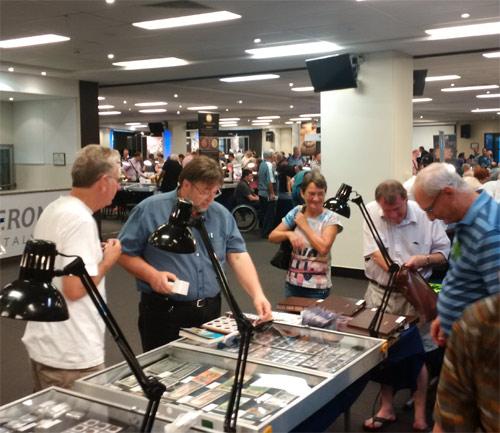 Perth ANDA Coin Show bourse