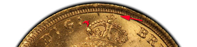 Jubilee head sovereign
