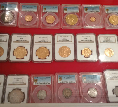 PCGS graded coins Coinex