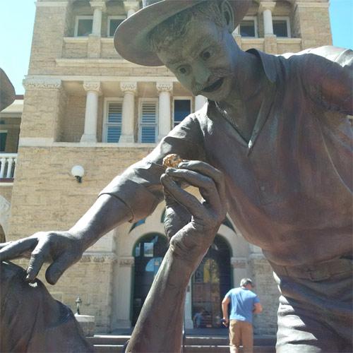Perth Mint statues