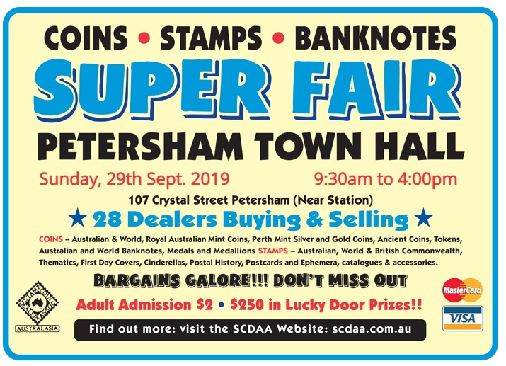 Petersham Coin Show